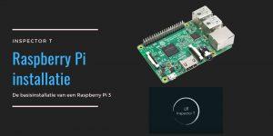 Raspberry pi 3 installatie
